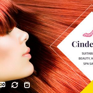 Cinderella – Beauty Hair and Spa Salon WordPress Theme