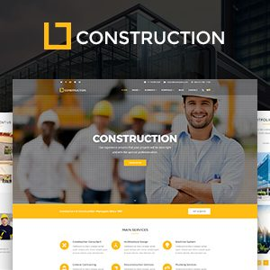 Construction – Business & Building Company WordPress Theme