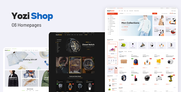 Yozi – Multipurpose Electronics WooCommerce WordPress Theme