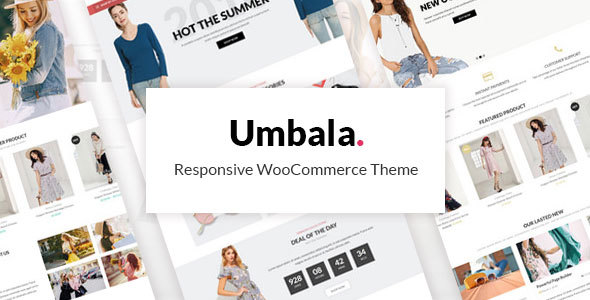 Umbala – Stylish Fashion Clothing WooCommerce Theme